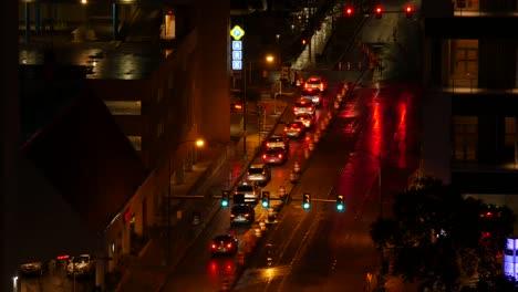 Texas-San-Antonio-Night-Traffic