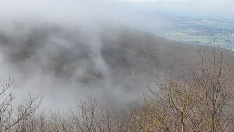 Virginia-Appalachian-View-In-Fog-Time-Lapse