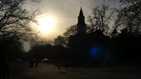 Virginia-Colonial-Williamsburg-Interesting-Backlit-View