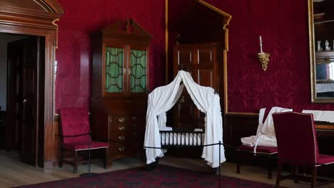 Virginia-Colonial-Williamsburg-Room-With-Red-Walls-Zoom