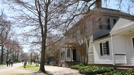 Virginia-Colonial-Williamsburg-Street-And-Houses