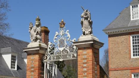 Virginia-Colonial-Williamsburg-View-Of-Gate