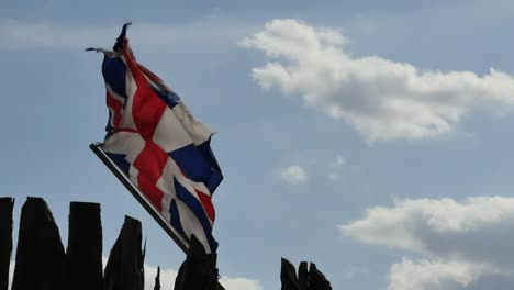 Virginia-Jamestown-British-Flag-Flying-Pan