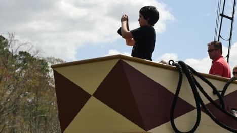 Virginia-Jamestown-Boy-With-Camera-On-Ship-Zoom