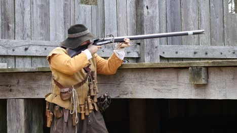 Virginia-Jamestown-Man-Fires-Historic-Gun