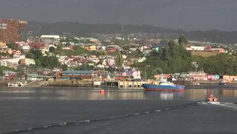 Chile-Chiloe-Castro-With-Tender