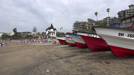 Chile-Papudo-Boat-Prows-Frame-Beach