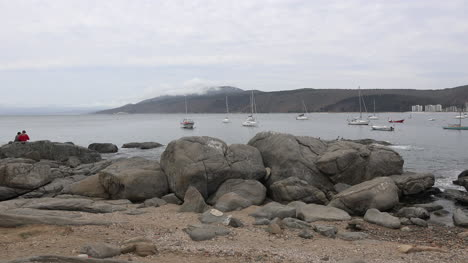 Chile-Papudo-Rocks-And-Sea
