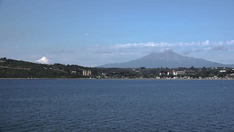 Chile-Puerto-Montt-Osorno-And-Calbuco-Volcanoes-Time-Lapse