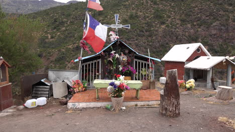 Chile-Front-View-Of-Roadside-Shrine