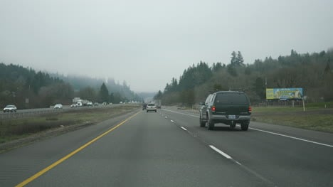 Oregon-Winter-Highway