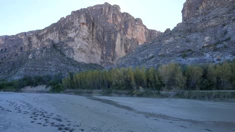 Texas-Big-Bend-Santa-Elena-Canyon-With-Mud
