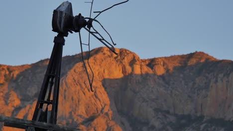 Texas-Big-Bend-Evening-Broken-Windmill-Sam-Nail-Ranch