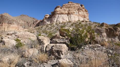 Texas-Big-Bend-Rocks-And-Creosote-Bush
