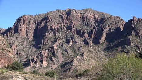 Texas-Big-Bend-Rugged-Mountainside