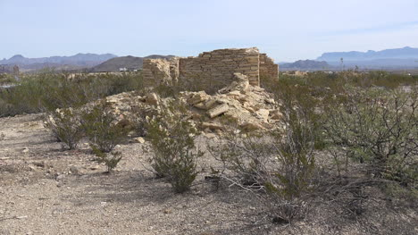 Texas-Terlingua-Creosote-Bush-And-Ruin
