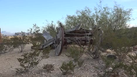 Texas-Terlingua-Old-Wagon