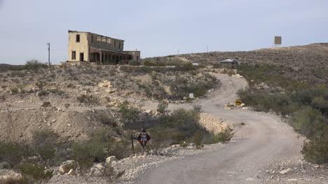 Texas-Terlingua-Road-Winding-To-House