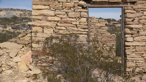 Texas-Terlingua-Stone-Ruin-With-Door-Zoom-Out