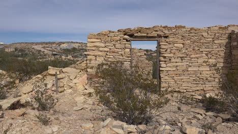 Texas-Terlingua-Stone-Ruin-With-Door