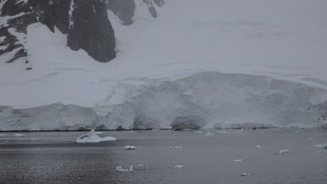 Antarctica-Lemaire-Channel-Detail-Of-Ice