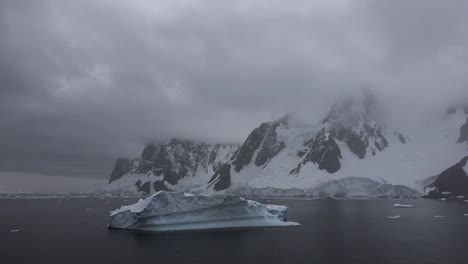 Antarctica-Lemaire-Channel-Floating-Iceberg