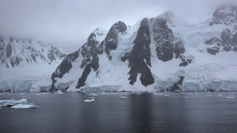 Antarctica-Lemaire-Channel-Horns-Rise-From-The-Sea