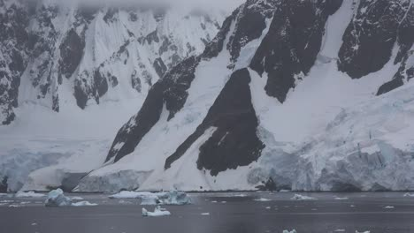 Antarctica-Lemaire-Ice-And-Rocks