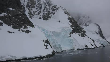 Antártida-Lemaire-Pasando-Costa-Helada