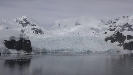 Antarctica-Black-Rock-By-Glacier