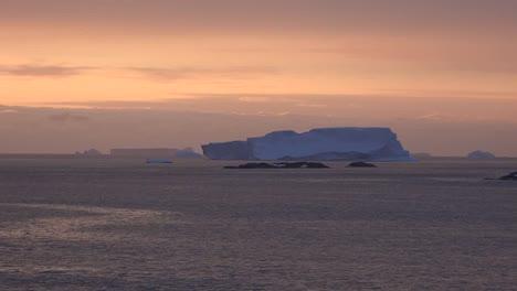 Antarctica-Iceberg-In-Twilight