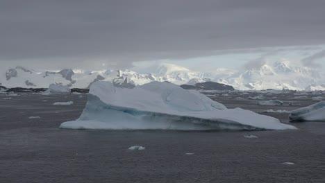 Antarctica-Icebergs-And-White-Mountains