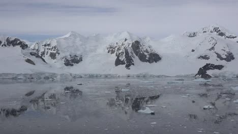 Antarctica-Mountain-Peak-And-Reflection
