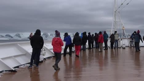 Antarctica-Pan-And-Zoom-Deck-Of-Ship