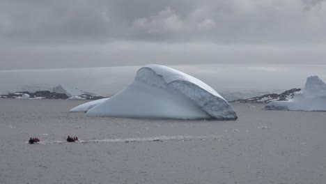 Antarctica-Two-Inflatable-Boats-From-Palmer-Station