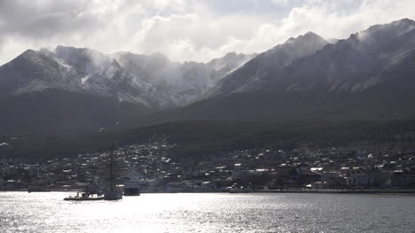 Argentina-Ushuaia-Mist-Over-Cirque-Backlit