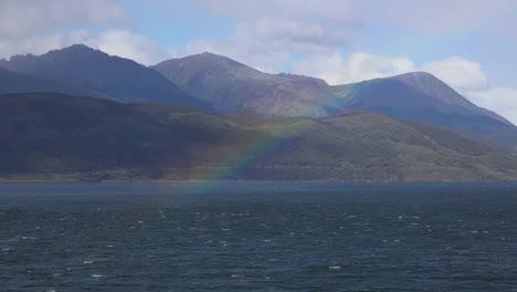 Argentina-Ushuaia-Rainbow-Over-Mountains
