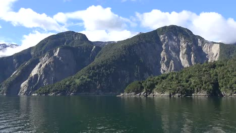 Chile-Aisen-Fjord-Island-And-Landslide-Scarp-Time-Lapse