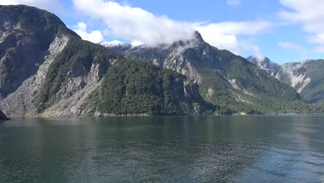Chile-Aisen-Fjord-Passing-Jagged-Mountains
