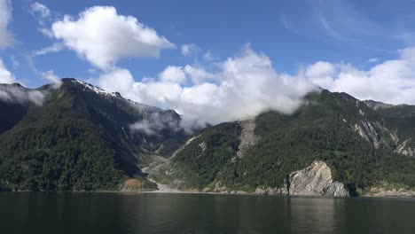 Chile-Aisen-Fjord-Stream-Course-In-Mountains-Time-Lapse