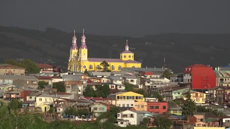 Chile-Chiloe-Castro-Church
