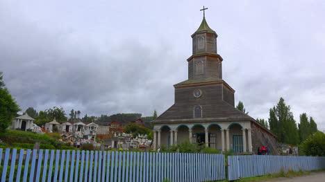 Chile-Chiloe-Wooden-Church-Near-Castro