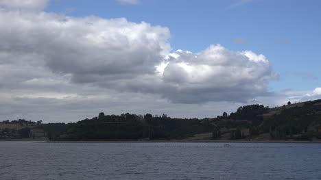 Chile-Estero-De-Castro-Coast-And-Cloud