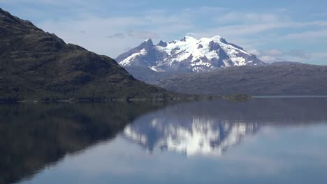 Chile-Mount-Burney-And-Reflections