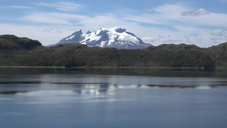 Chile-Mount-Burney-Rises-Beyond-Hills-Zoom-In