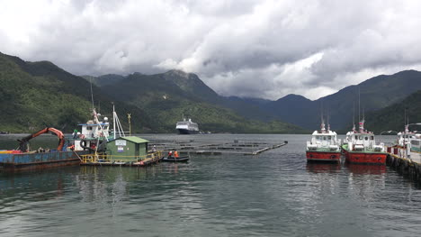 Chile-Puerto-Chacabuco-Boats-And-Ship