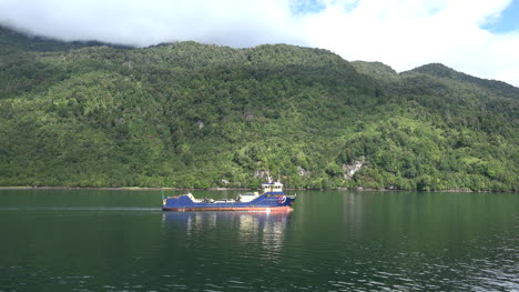 Chile-Puerto-Chacabuco-Work-Boat