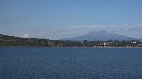 Chile-Puerto-Montt-Two-Volcanoes-Osorno-And-Calbuco