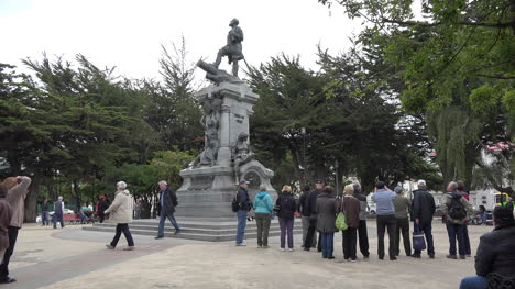 Chile-Punta-Arenas-Magellan-Statue-In-Plaza
