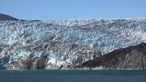 Chile-Tempanos-Glacier-Passing-Front-Of-Ice